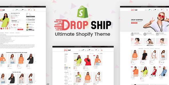 Dropshipping - Fashion Shopify Theme Multipurpose