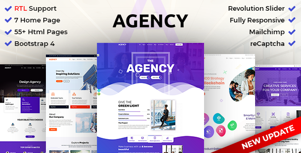 Agency | Creative Multipurpose HTML with RTL Ready