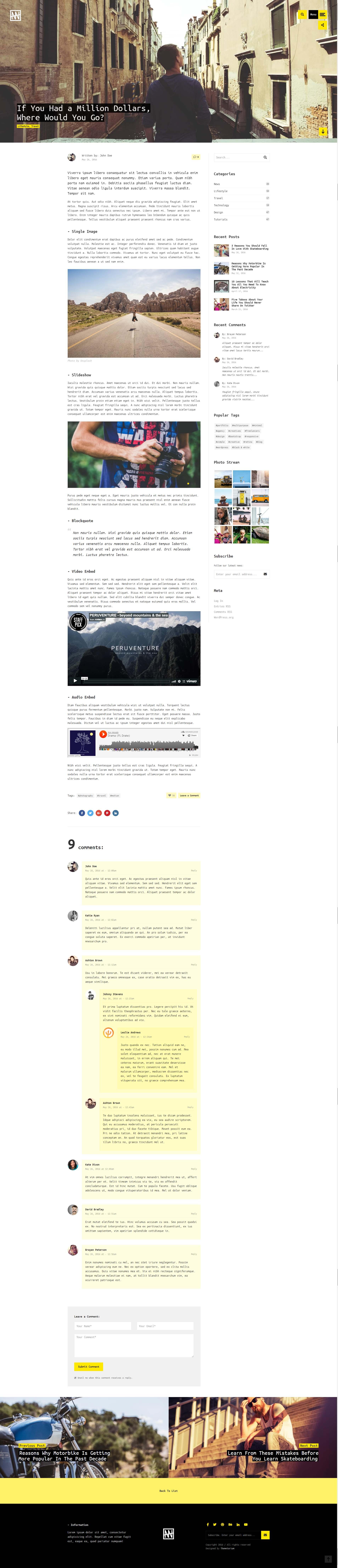 Waldo - Portfolio HTML Website Template for Freelancers & Agencies