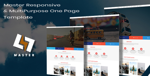 Master -  Responsive & MultiPurpose Onepage Templates