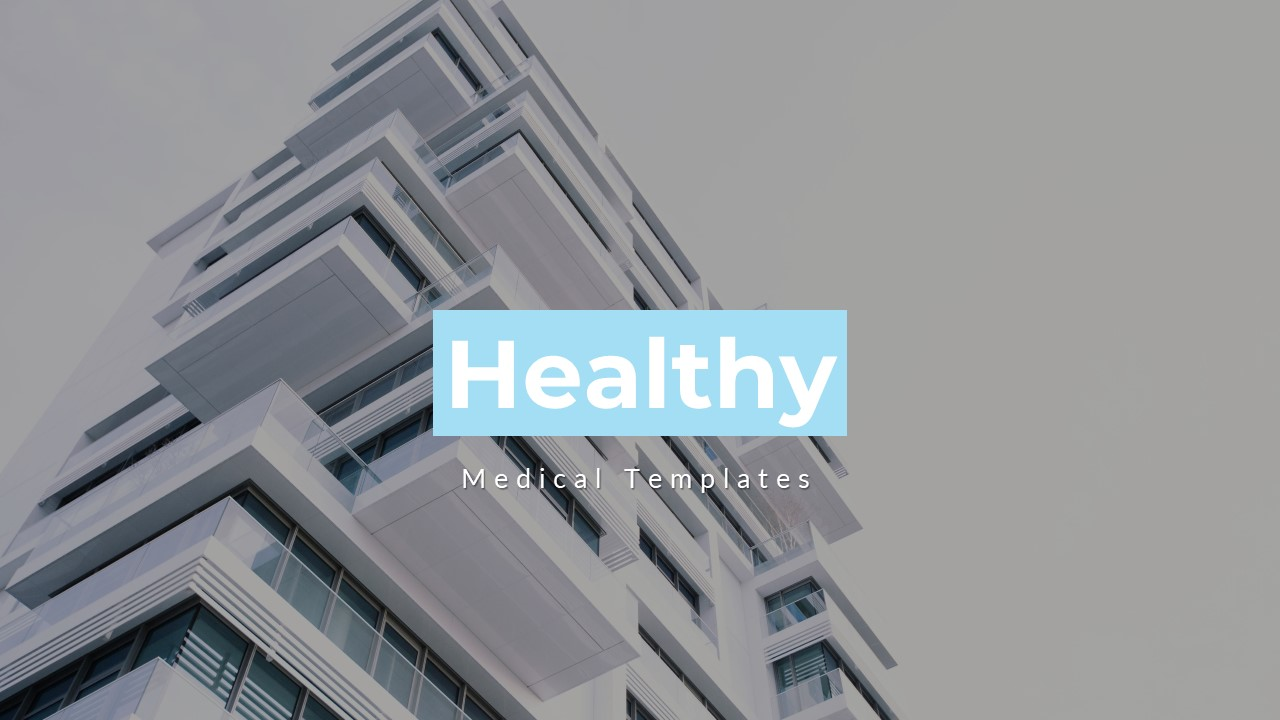 Healty - Medical Keynote Template