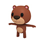 Little Bear - 3DOcean Item for Sale