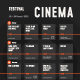 Film Festival Schedule Poster - GraphicRiver Item for Sale