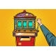 One-Armed Bandit Slot Machine - GraphicRiver Item for Sale
