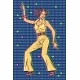 Girl in Pantsuit Disco Dancing - GraphicRiver Item for Sale