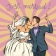 Bride and Groom Wedding Couple Just Married - GraphicRiver Item for Sale