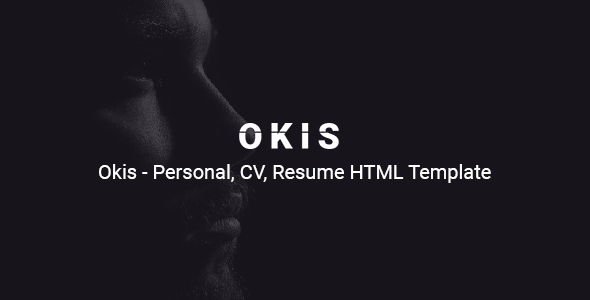 Okis - Personal CV Resume HTML Template