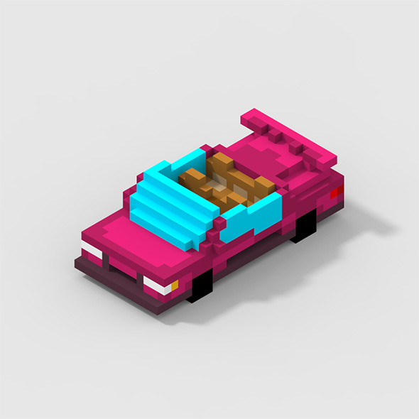 Voxel Roofless Car