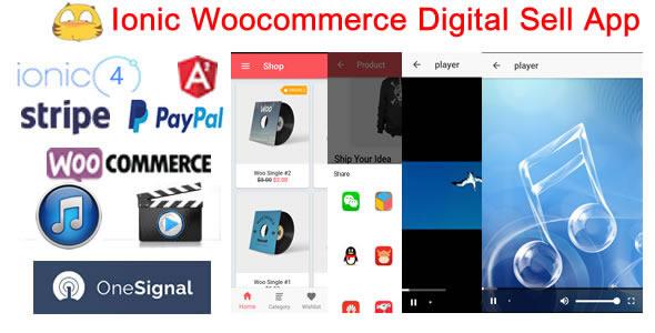 Ionic2WooDigitalStore-Ionic Woocommerce Digital Sell Store App