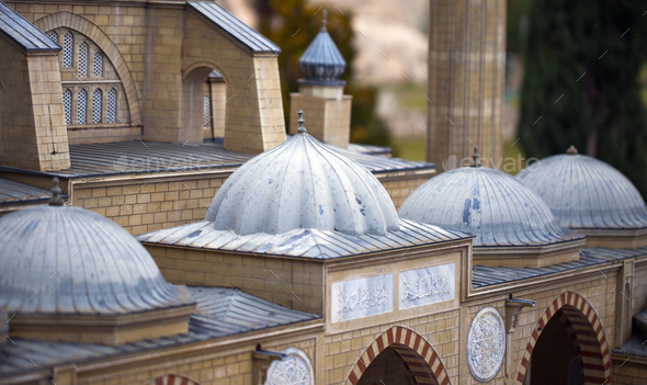 Model Art of Historical Building - Stock Photo - Images