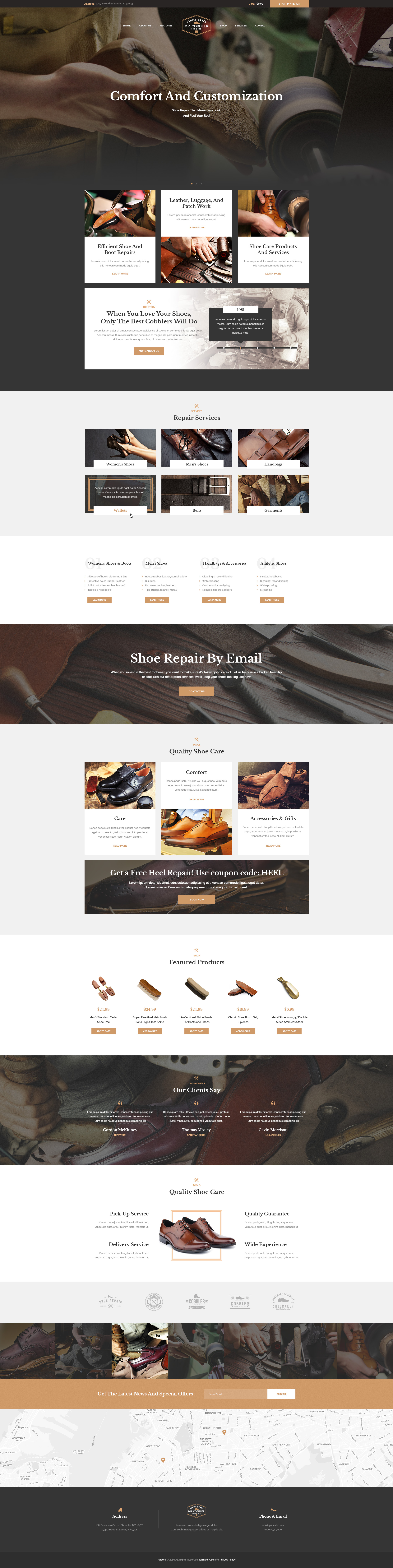Mr. Cobbler | Custom Shoemaking