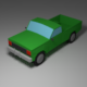 low poly pickup - 3DOcean Item for Sale