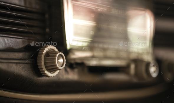 Retro Vintage Old Radio Nostalgia Object - Stock Photo - Images