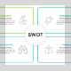 Linear SWOT Infographic Template - GraphicRiver Item for Sale