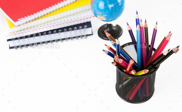 School Education Equipment Tools - Stock Photo - Images