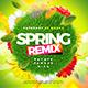 Spring Remix Flyer - GraphicRiver Item for Sale