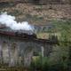 Glenfinnan viaduct with steam train - PhotoDune Item for Sale
