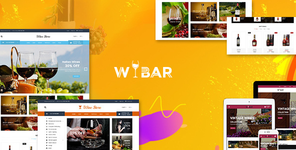 Download Wibar – Wine, Winery and Vineyard WooCommerce WordPress Theme nulled themepreview
