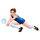 Isolated Volleyball Boy Player - GraphicRiver Item for Sale
