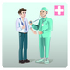 Cartoon Medical Care Template - GraphicRiver Item for Sale