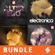 Electronic Music Album Cover Artwork Templates Bundle 9 - GraphicRiver Item for Sale