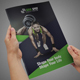 Fitness Bifold Brochure - GraphicRiver Item for Sale