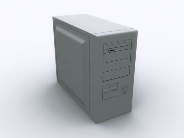 PC Case / MAX - 3DOcean Item for Sale