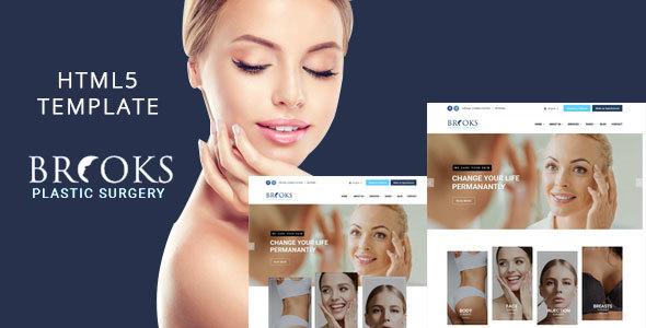 Brooks - Plastic Surgery Clinic HTML Template