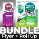 Social Media Bundle (Flyer+Roll Up) - GraphicRiver Item for Sale