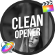 Clean Opener / FCPX or Apple Motion - VideoHive Item for Sale