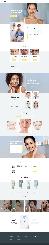 Accalia | Dermatology Clinic WordPress Theme