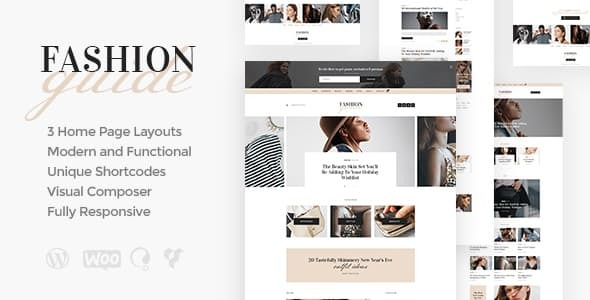Download Fashion Guide | Online Magazine & Lifestyle Blog WordPress Theme nulled 01 FashionGuide