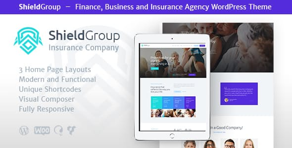 ShieldGroup | An Insurance & Finance WordPress Theme