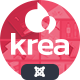 Krea - Modern Portfolio One Page Joomla Template