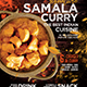 Indian Cuisine Restaurant flyer - Set of 3 Templates - GraphicRiver Item for Sale