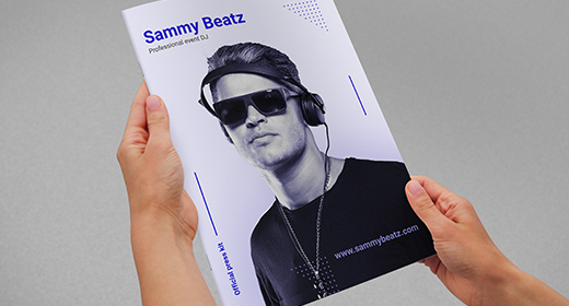 Pro DJ Press Kit Templates