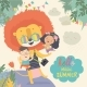 Lion Hugging Children Hello Adventures - GraphicRiver Item for Sale
