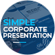 Simple Corporate Presentation - VideoHive Item for Sale