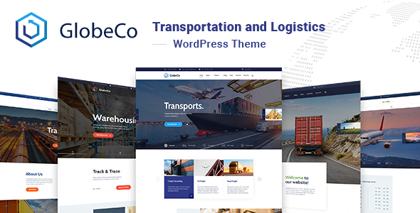GlobeCo – Transportation & Logistics WordPress Theme Free Download