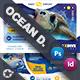 Ocean Diving Postcard Bundle Templates - GraphicRiver Item for Sale