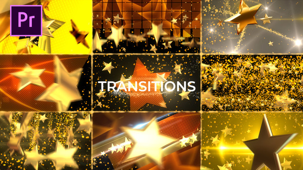 Gold Star Transitions Pack