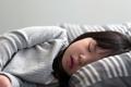 Child girl sleeping on bed - PhotoDune Item for Sale
