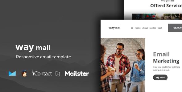 Way Mail - 30+ Modules + Online Access + Mailster + MailChimp