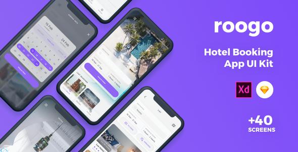 Roogo - Hotel Booking UI Kit
