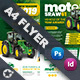 Vehichle Mower Flyer Templates - GraphicRiver Item for Sale