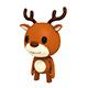 Rigged Little Deer - 3DOcean Item for Sale