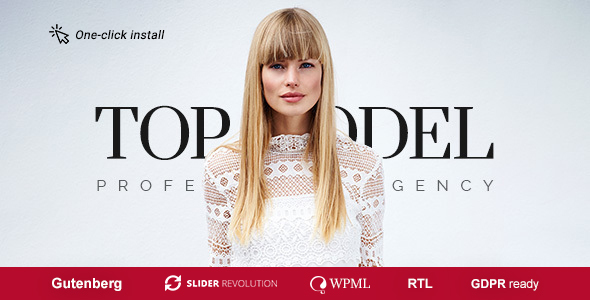 Top Model - Fashion Model Agency WordPress Theme