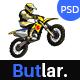 Butlar - Sports Betting PSD Template - ThemeForest Item for Sale