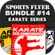 Sports Flyer Bundle 14 Karate Series - GraphicRiver Item for Sale