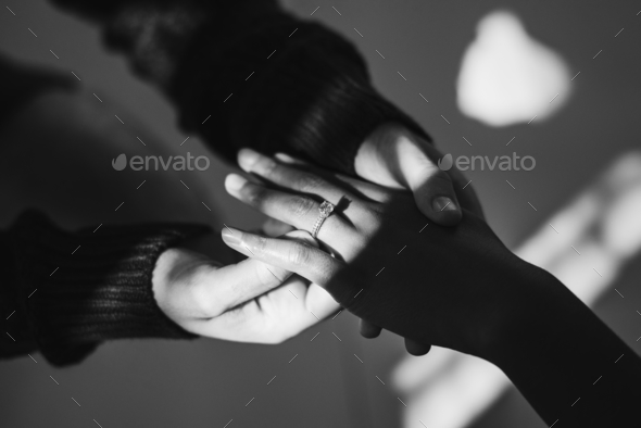 Man proposing to his girlfriend with diamond ring - Stock Photo - Images